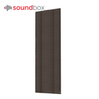 Fabric sound absorbing ceiling acoustic panels recording studio soundproofing panel for office