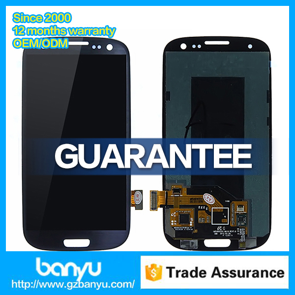 High quality for samsung i9300 i9301 galaxy s3 lcd touch display screen