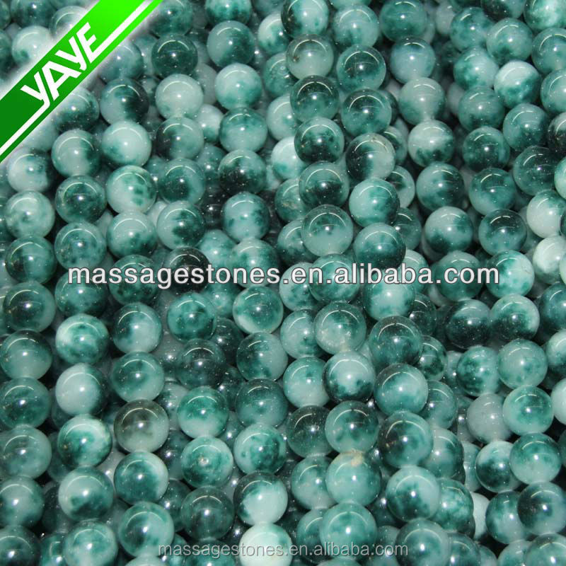 Gemstone 6 MM Loose Beads Green Agate Faceted Beads