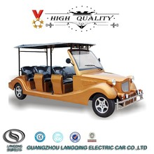 Classic Model 8 seater CE approved Chinese Electric vintage car for sale