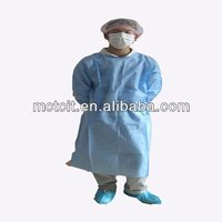 Healthcare medical gown/disposable protective coating