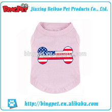 Dog Custom Summer Clothes Wholesales Print T shirt for All Pet