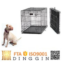 Easy assembly wire mesh dog carriers