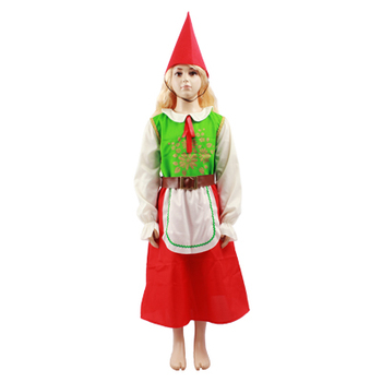 2017 hot sale cute and lovely little girls christmas costumes for party