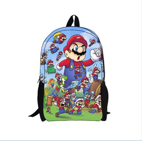 online kaufen gro handel super mario schultasche aus china. Black Bedroom Furniture Sets. Home Design Ideas