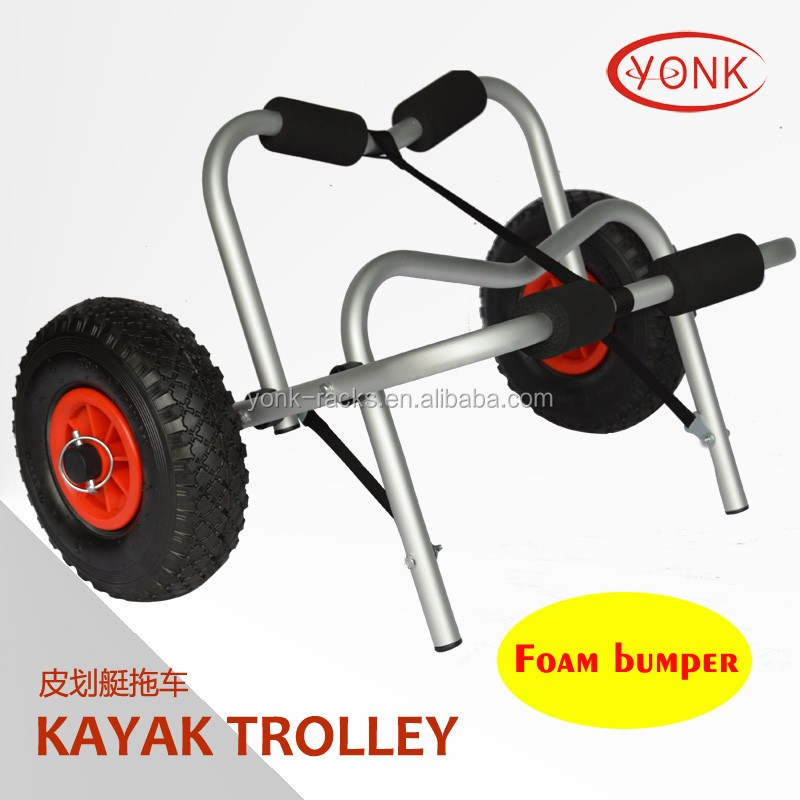 Stanless Kayak Dolly/Kayak Cart sit on top kayak beach trolley