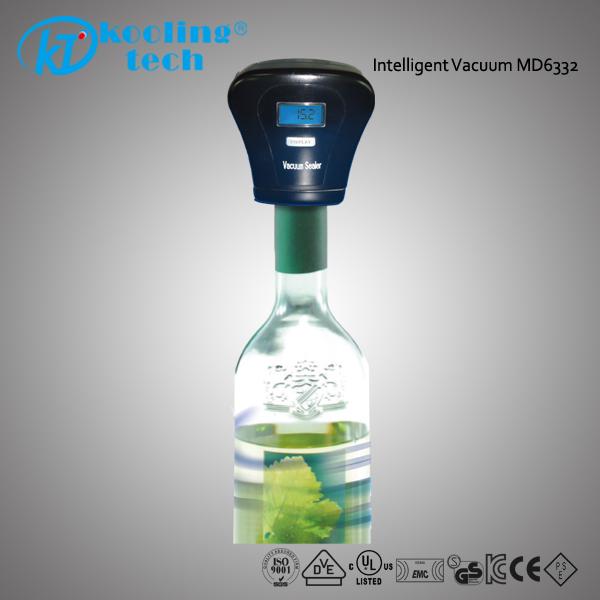 Led Lighted Plastic Bottle Cap Sealer Electric Wine Vacuum Saver