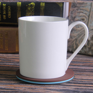 Grade A White Porcelain Coffee Tea Cup Custom Ceramic Mug With Handle