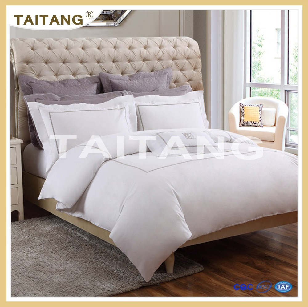 100% cotton white home use raw material for bedding