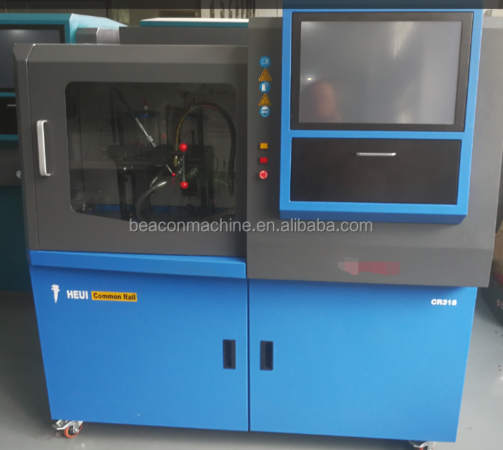2017 New hot sale of BC-CR318 common rail injector test bench with HEUI injector testing functions