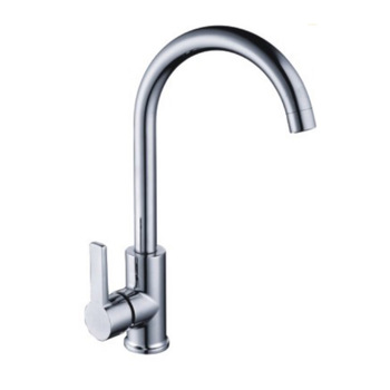 Kitchen Faucet European Simple Style Single Curve Handle Kitchen Sink  Faucet - Buy Kitchen Faucet,Simple Style Kitchen Faucet,European Simple  Style ...