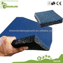 Safety rubber outdoor playground rubber mats