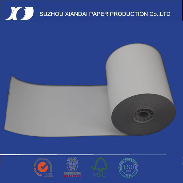 80mm Thermal paper roll with rock bottom price with carton roll for tubes and biometric print