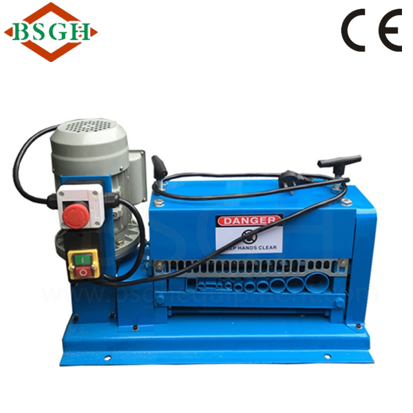 automatic high separation <strong>scrap</strong> copper wire recycling machine BS-015M waste wire stripper