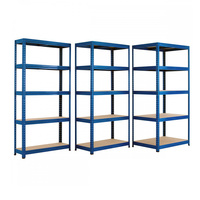 High quality warehouse storage racking systems boltless rack