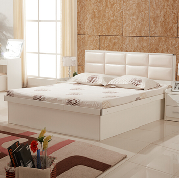 China Bedroom Furniture Cheap Wooden Double Bed Designs In Wood