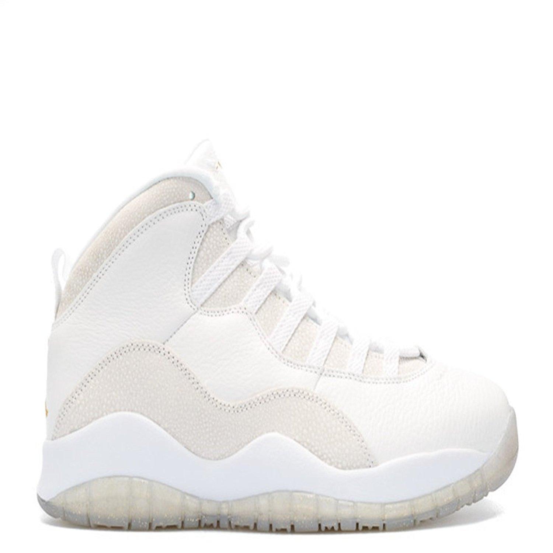 a01ca0003907 air jordan 10 retro ovo ovo summit white metallic gold white basketball  shoes