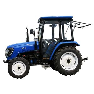 60HP Tractor with Loader Backhoe and Snow Blower cheap chinese tractor