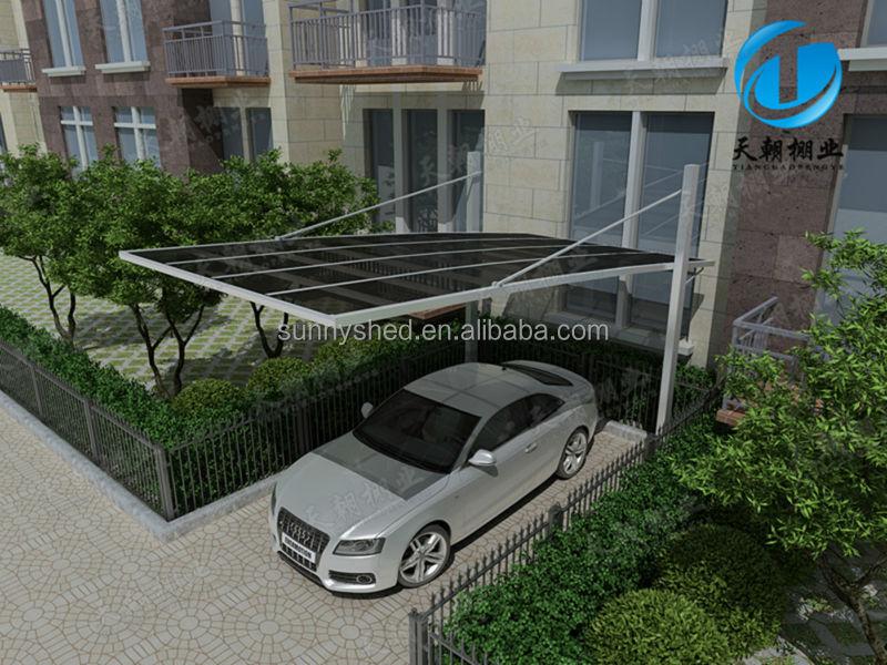 Car porch design polycarbonate images for Car shed design