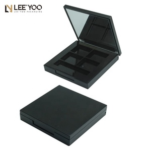 PB-006C Square 4 colors eyeshadow palette with magnet cosmetics packaging