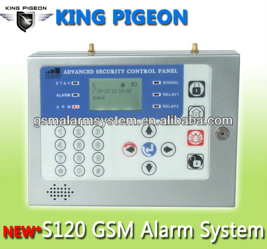 S120 GSM Home Security Alarm Systemen Met Voice en Intercom