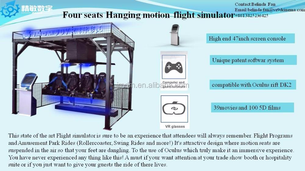 04ede024a3d New arrival Virtual reality arcade game machine 9D VR cinema flight  simulator for sale