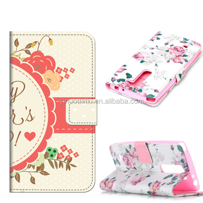 Wholesale original luxury wallet mobile phone case for lg g4 mini