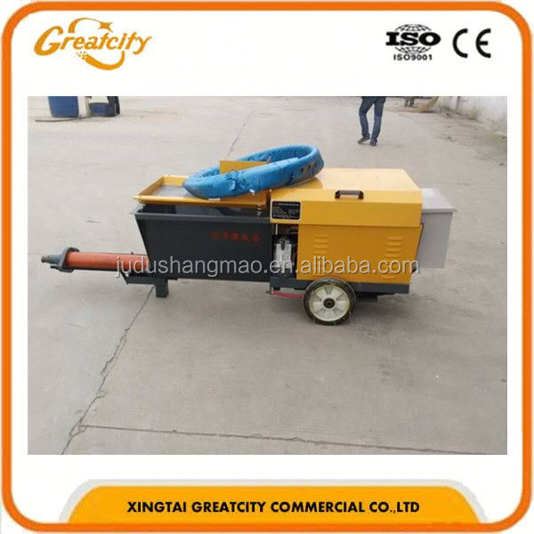 Widely Range of Applications Cement Mortar Spraying Machine