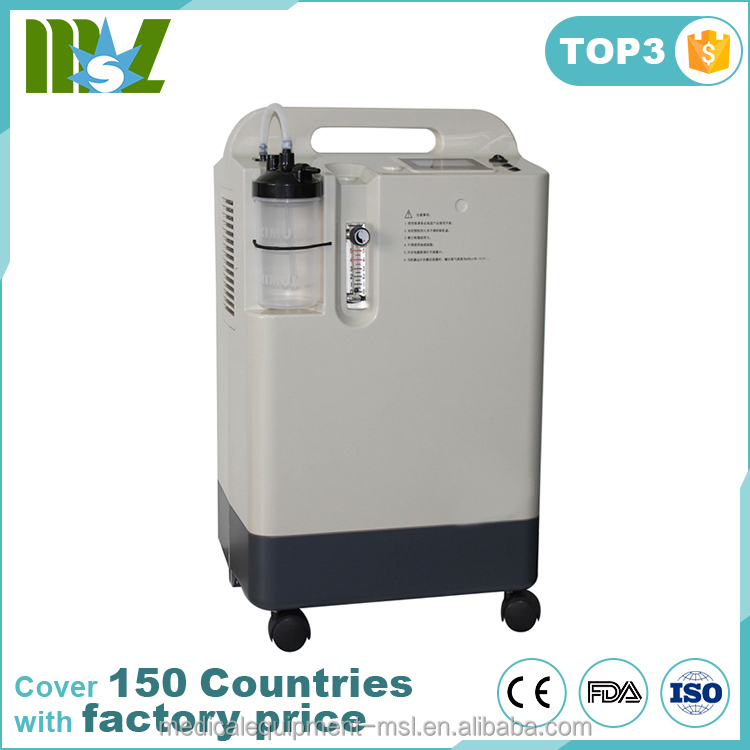 Manufacturer medical equipment easy use portable oxygen concentrator price