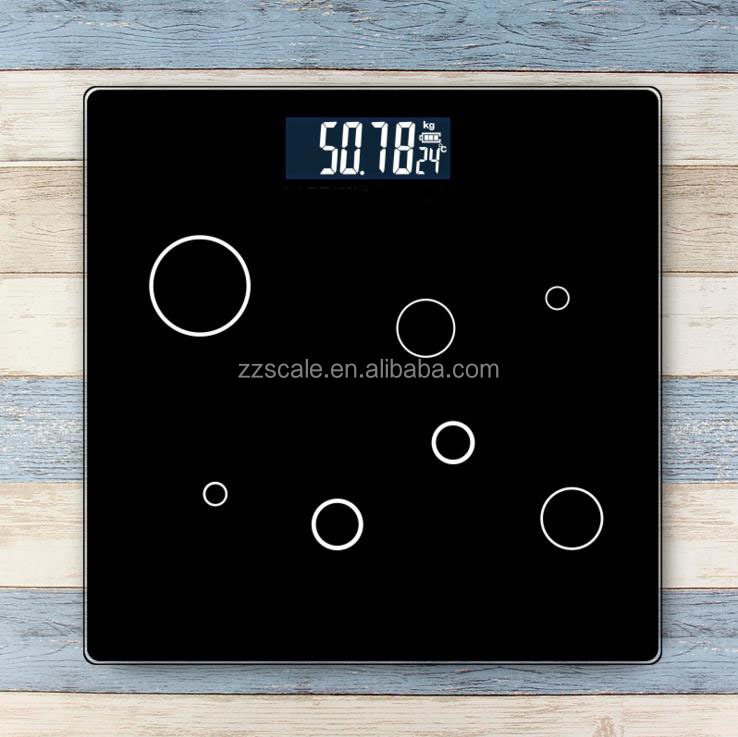 popular type simple design electronic digital body weighing bathroom scale