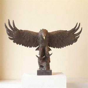 Genial Large Outdoor Bronze Bird Sculptures
