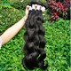 Wholesale Raw Indian Hair Extensions Body Wave for Beautiful Lady
