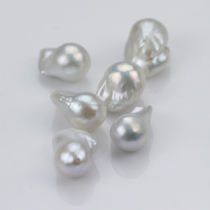 16mm AAA nucleated real freshwater pearls loose pearl wholesale