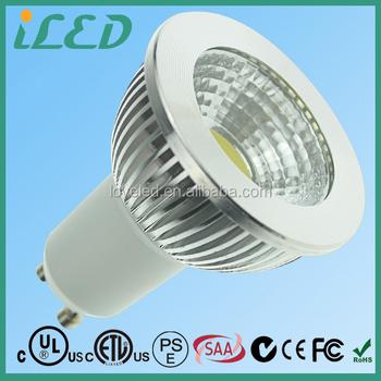 Dimmable 3w 5w 6w Led Lamp 220 Volt Cob Led Spotlight Gu10 Base ...