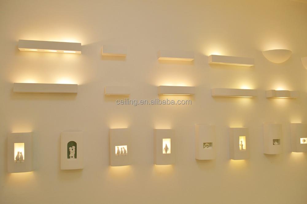 MS Interieur Decoratieve Gesso Gips Verlichting Lamp-wandlampen ...