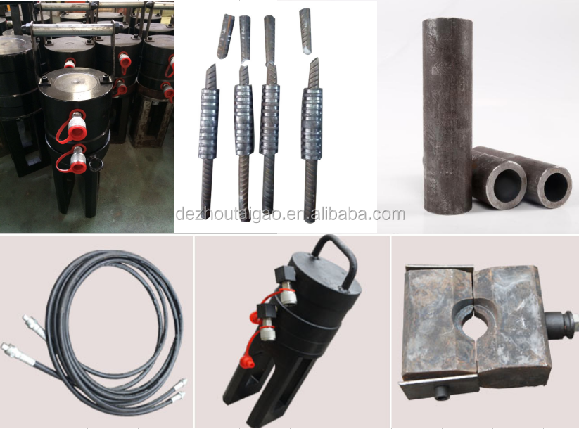 High quality steel bar connecting machine in China
