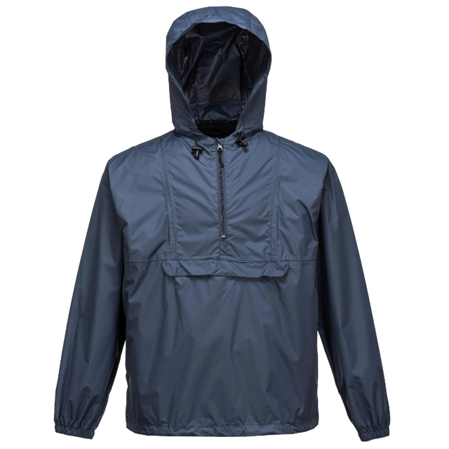 Cheap Polyester PU Coating Outerwear Hooded Waterproof Motorcycle Rain Jacket For Men