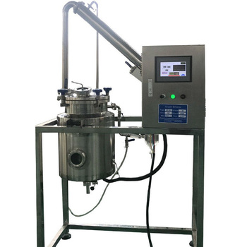 Experimental frangipani oil extraction equipment extraction and concentration unit flower essential oil distillation extractor
