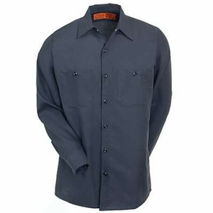 long sleeve industrial high quality mens custom wholesale cotton workwear work shirt uniform