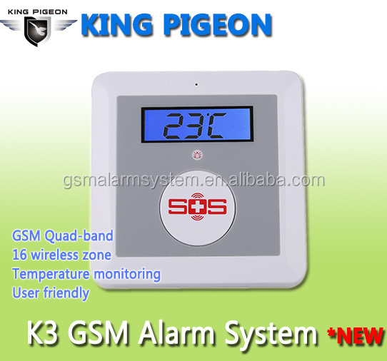 K3 Gsm Alarm,Elderly Sos Alarm System King Pigeon K3 Alarm