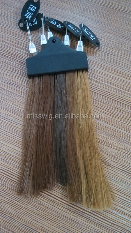 C-05 New Arrival Wig Accessories Human Hair Color Swatches Plastic ...