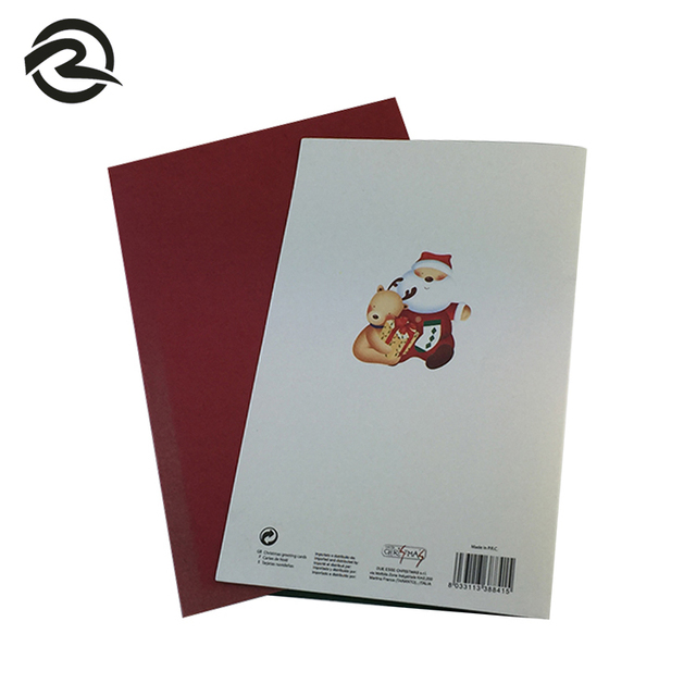 China free greeting cards print wholesale alibaba logo printed unique shape free christmas video greeting card m4hsunfo