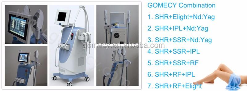 Multifunctional 3 In 1 Ipl Opt Shr Elight Nd Yag Laser Machine/ipl Laser Hair Removal Machine