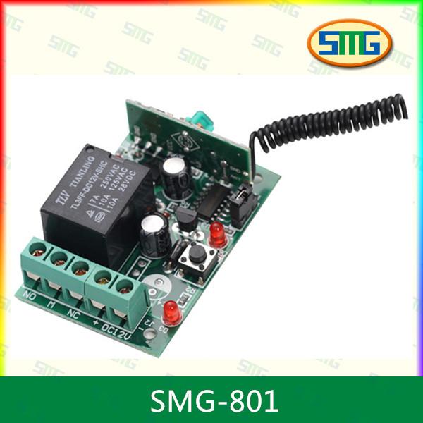 garage door receiver220v Rf Single1 Channel Remote Control Receiver Roll Up Garage