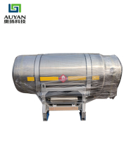 500L-I trolley lng fuel pressure vessel gas cylinder tanks for trucks