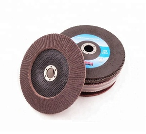 calcined abrasive flap disc sanding cloth disc with fiberglass backing