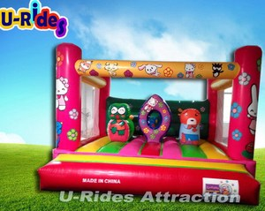 2014 Hello Kitty cheap inflatable bouncers for sale