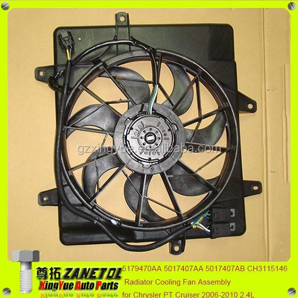 Jaguar X Type Radiator fan// Cooling Fan Later type TYPE 2006-2010