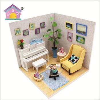 Fantasy Furniture Box Miniature,Dollhouse Miniatures Furniture Wooden Gift  Arts 1/18 - Buy Dollhouse Miniatures Furniture Wooden Gift Arts,Fantasy