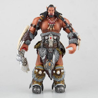 World of Warcraft game figure Durotan Heroes of the storm game team 17cm toy action figure